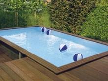 Een houten zwembad in de tuin, het is mogelijk!